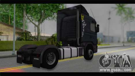 Scania 164L 580 V8 for GTA San Andreas left view