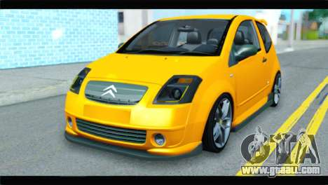 Citroen C2 for GTA San Andreas