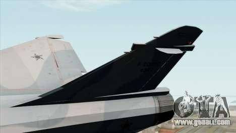 Dassault Mirage 2000 Forca Aerea Brasileira for GTA San Andreas back left view