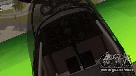GTA 5 Stuntplane Spunck for GTA San Andreas back view
