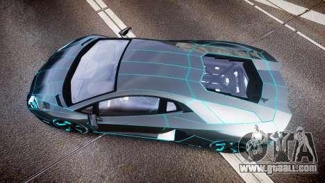 Lamborghini Aventador TRON Edition [EPM] Updated for GTA 4 right view
