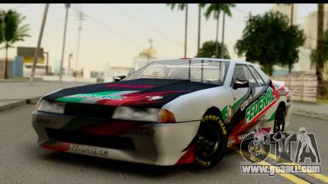 Elegy NASCAR PJ 2 for GTA San Andreas inner view