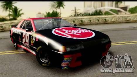Elegy NASCAR PJ for GTA San Andreas
