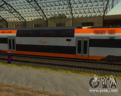 ONCF Ansaldo Breda Z2M (Middle car) for GTA San Andreas left view