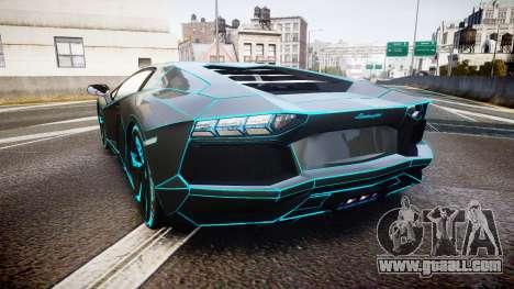 Lamborghini Aventador TRON Edition [EPM] Updated for GTA 4 back left view
