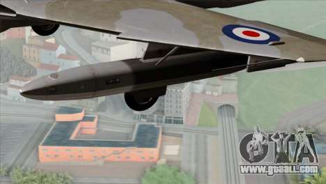 MIG-21MF Romanian Air Force for GTA San Andreas right view