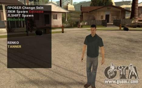 John Tanner DRIV3R for GTA San Andreas second screenshot