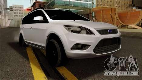 Ford Focus Wagon for GTA San Andreas