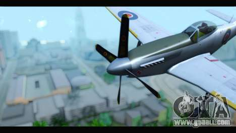 P-51 Mustang Mk4 for GTA San Andreas right view