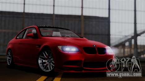 BMW M3 E92 GTS 2012 v2.0 Final for GTA San Andreas