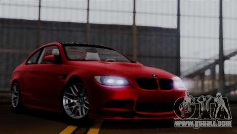 BMW M3 E92 GTS 2012 v2.0 Final for GTA San Andreas