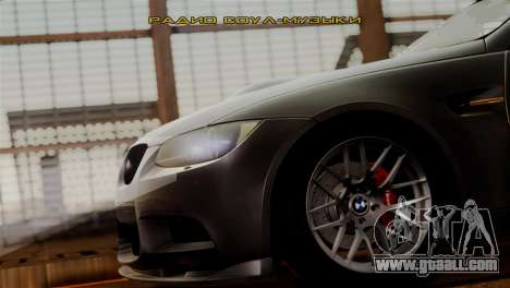 BMW M3 E92 GTS 2012 v2.0 Final for GTA San Andreas bottom view