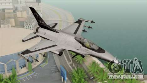 F-16C Fighting Falcon Wind Sword Squadron for GTA San Andreas