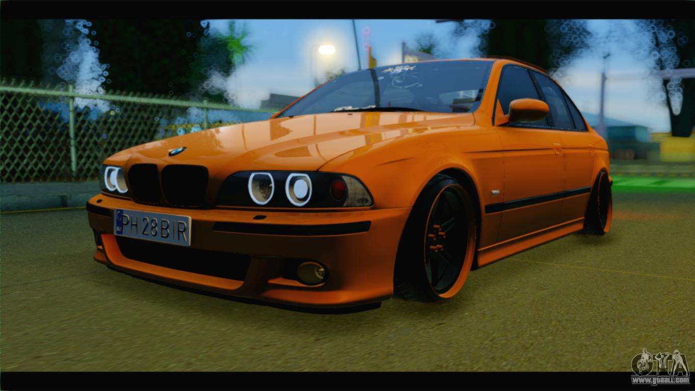bmw m5 e39 simply cleaned for gta san andreas. Black Bedroom Furniture Sets. Home Design Ideas
