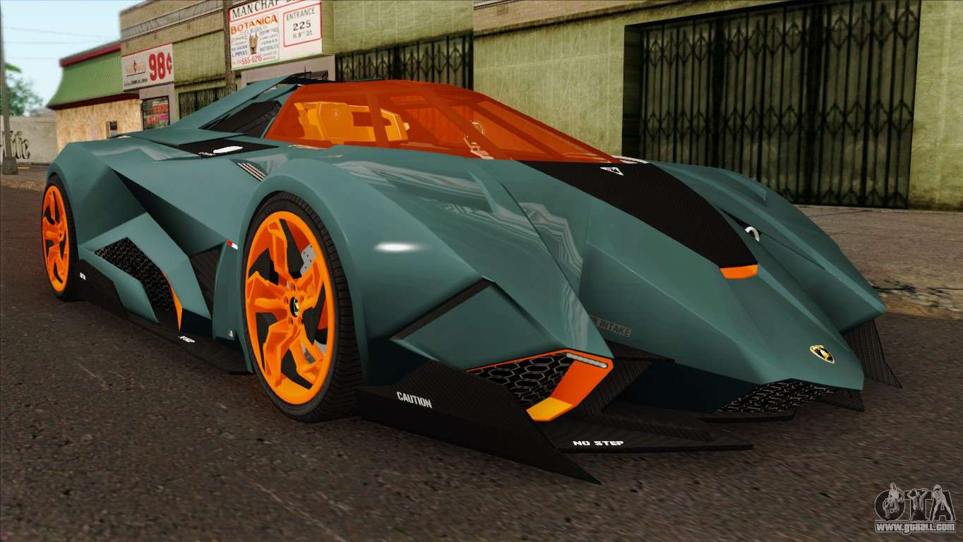 Lamborghini Egoista For Gta San Andreas