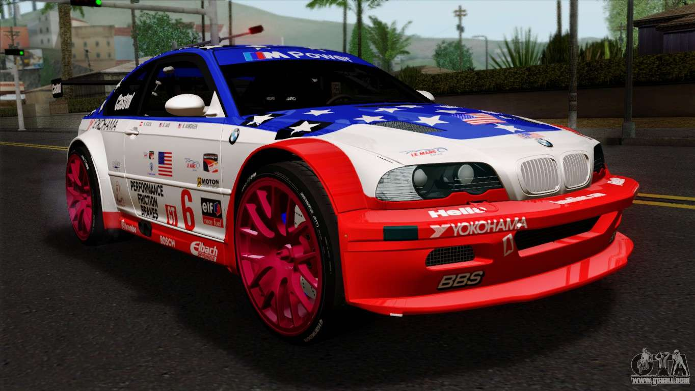 bmw m3 gtr 2001 prototype technology group for gta san andreas. Black Bedroom Furniture Sets. Home Design Ideas