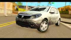 Dacia Sandero Dirty Version for GTA San Andreas