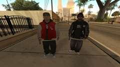 Ballas Skin Pack for GTA San Andreas