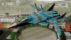 SU-47 Berkut Winter Camo for GTA San Andreas