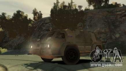 """GAZ 3937 Vodnik"""" for GTA 4"""