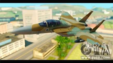 Boeing F-15C IAF for GTA San Andreas