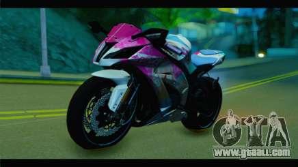 Kawasaki Ninja ZX-10R Super Sonico Itansha for GTA San Andreas