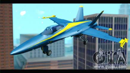 McDonnell Douglas FA-18 Blue Angel for GTA San Andreas
