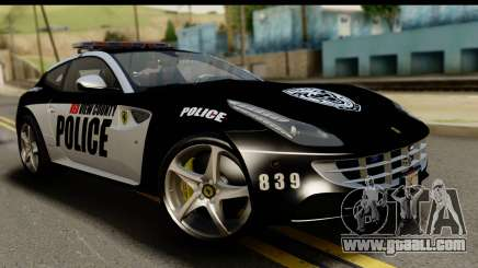 NFS Rivals Ferrari FF Cop for GTA San Andreas
