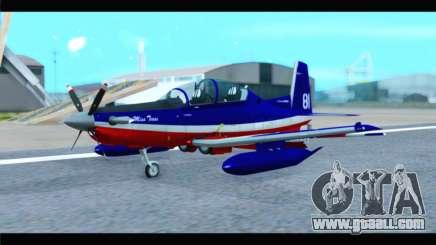Beechcraft T-6 Texan II Red for GTA San Andreas