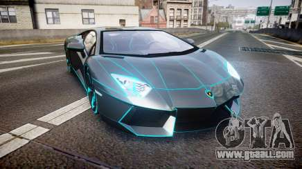 Lamborghini Aventador TRON Edition [EPM] Updated for GTA 4