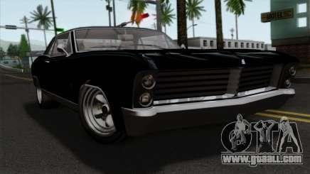 GTA 5 Albany Buccaneer for GTA San Andreas
