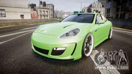 Porsche Panamera Turbo 2010 for GTA 4