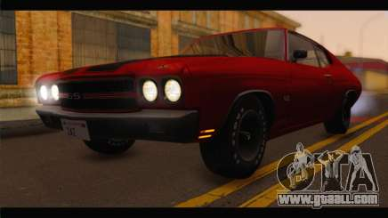 Chevrolet Chevelle 1970 Flat Shadow for GTA San Andreas