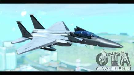 McDonnell Douglas F-15D Timberwolves Squadron for GTA San Andreas