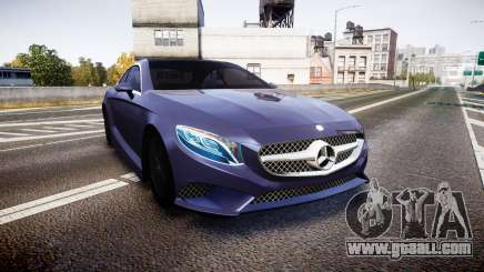 Mercedes-Benz S500 (C217) 2015 for GTA 4