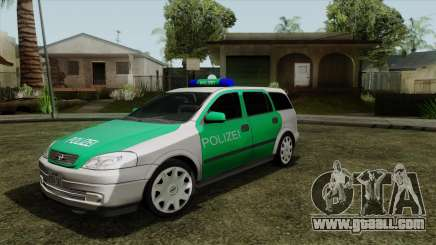 Opel Astra G 1999 Police for GTA San Andreas