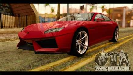 Lamborghini Estoque PJ for GTA San Andreas