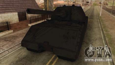 Panzerkampfwagen VIII Maus for GTA San Andreas back view