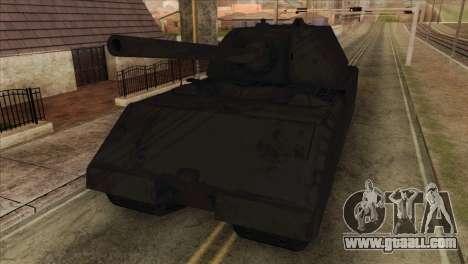 Panzerkampfwagen VIII Maus for GTA San Andreas back view