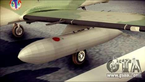 Embraer EMB-314 Super Tucano E for GTA San Andreas right view