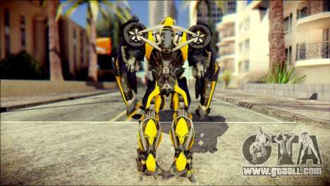 Bumblebee Skin from Transformers for GTA San Andreas second screenshot
