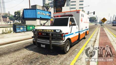 GTA 5 Ambulance v0.7.2