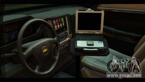 Chevrolet Suburban 2015 SANG for GTA San Andreas right view