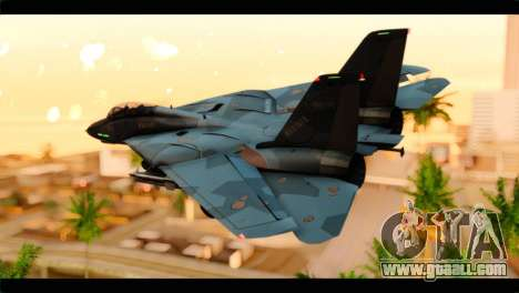 Grumman F-14D SuperTomcat Metal Gear Ray for GTA San Andreas left view