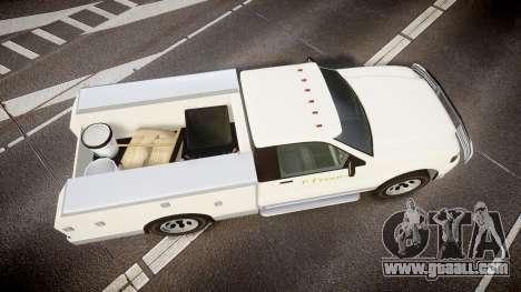GTA V Vapid Utility Truck for GTA 4