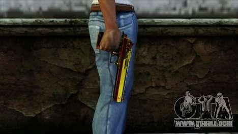 Desert Eagle Spain for GTA San Andreas third screenshot