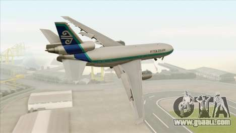 DC-10-30 Air New Zealand for GTA San Andreas left view
