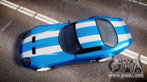 Bravado Banshee Double Stripe for GTA 4 right view