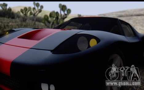 Bullet PFR v1.1 HD for GTA San Andreas upper view