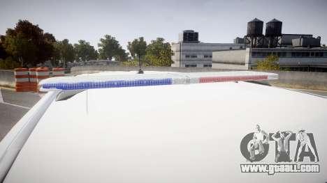 Ford Explorer 2011 Elizabeth Police [ELS] for GTA 4 back view